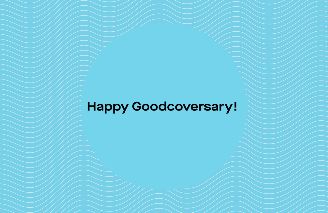 Goodcover 1st Anniversary Highlights